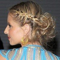Причёска греческой богини