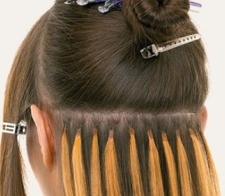 капельное наращивание волос