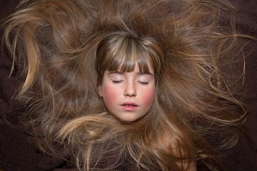 Сонник белые волосы у себя на голове