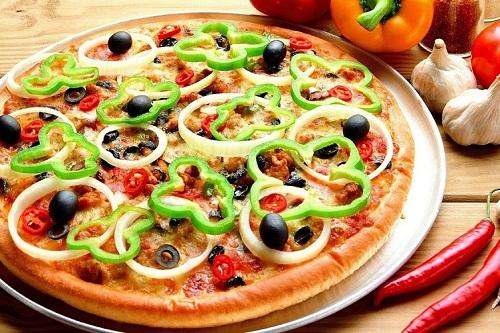 как сделать пиццу на кефире