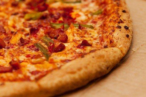 тесто для пиццы на кефире простой рецепт