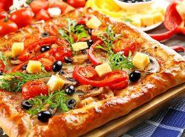 жидкое тесто для пиццы рецепт на кефире