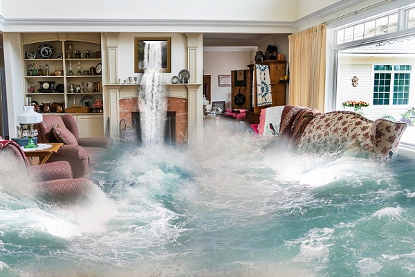 Сонник наводнение вода прибывает