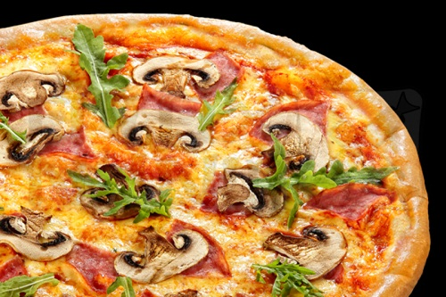 пицца рецепт в домашних условиях с грибами колбасой и сыром в духовке
