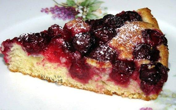 Простой и вкусный ягодный пирог