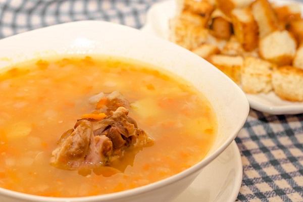рецепты для мультиварки гороховый суп с копчеными