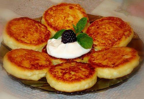 рецепт с фото сырники без яиц пышные рецепт с фото