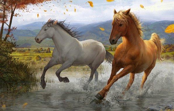 К чему снится бегущий табун лошадей женщине