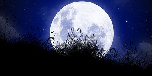 Луна во сне - толкование по сонникам Миллера, Ванги, Лоффа и других