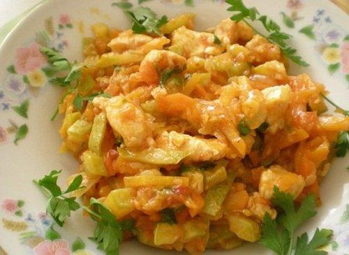 Как сделать овощное рагу