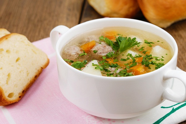 Суп из перепелиного мясо