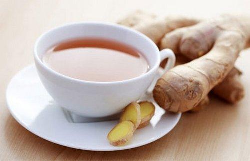 Имбирный чай с медом