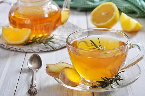 Вкусный имбирный чай