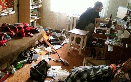 сонник беспорядок в комнате