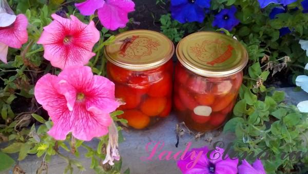 Как консервировать помидоры черри фото рецепт