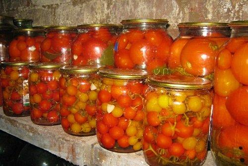 Как солить помидоры черри