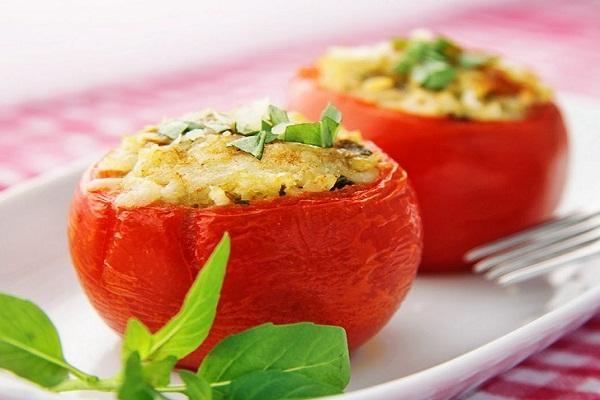 фаршированные кабачки с фаршем и овощами запеченные в духовке рецепт с фото