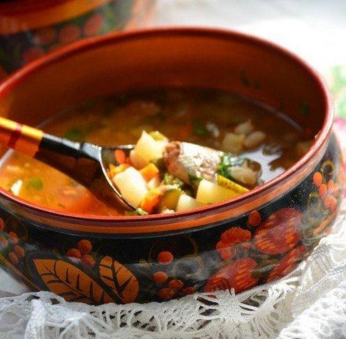 рецепты супа рассольника с перловкой и огурцами