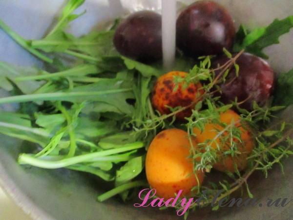 Фото рецепт вкусного салата с рукколой