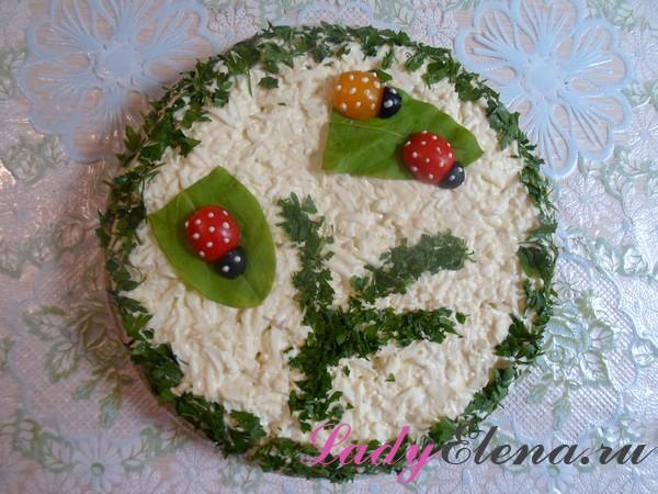 Фото рецепт салата из сайры