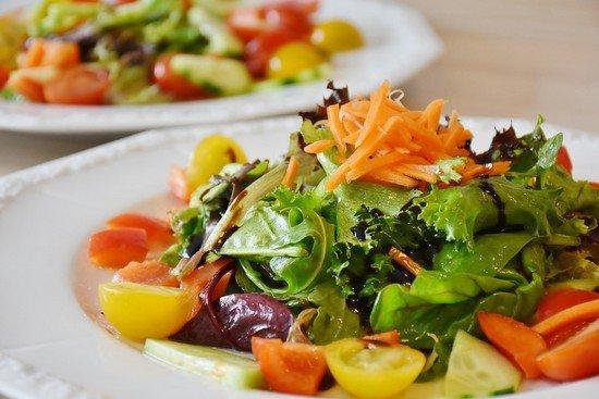 Овощной теплый салат