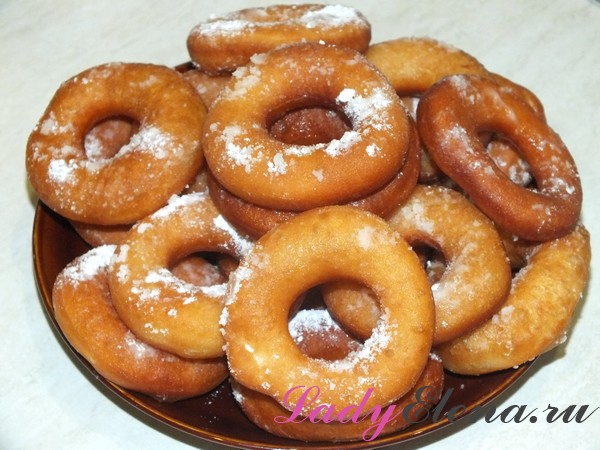 Фото рецепт домашних пончиков