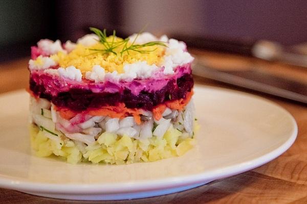 салат под шубой рецепт как почистить сельдь от костей