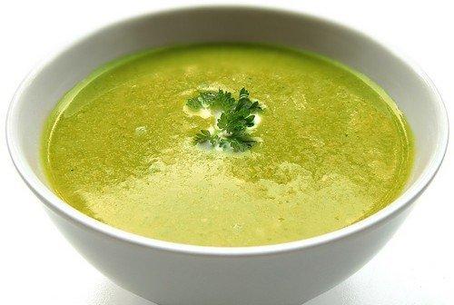 Суп пюре гороховый