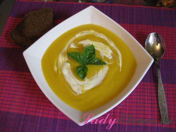 Фото рецепт супа пюре из тыквы