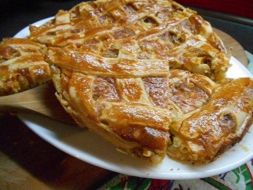 Луковый пирог рецепт