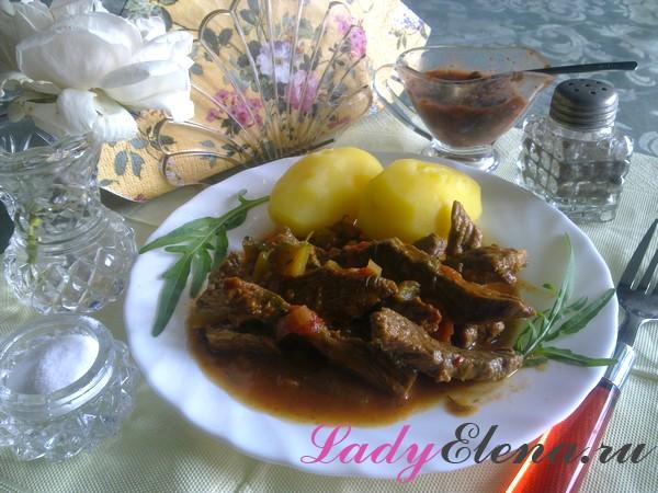 Фото рецепт азу по-татарски