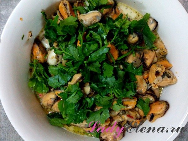 Фото рецепт мидий в сливочном соусе