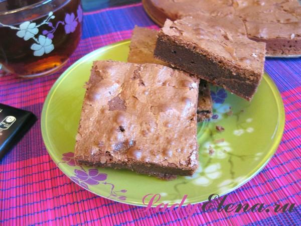Фото рецепт шоколадного брауни