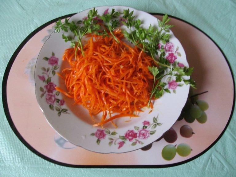 Морковь по корейский рецепт в домашних условиях  429
