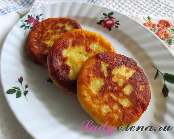 Фото рецепт картофельных биточков