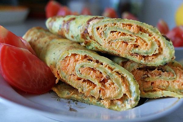 рецепт блинов из кабачков