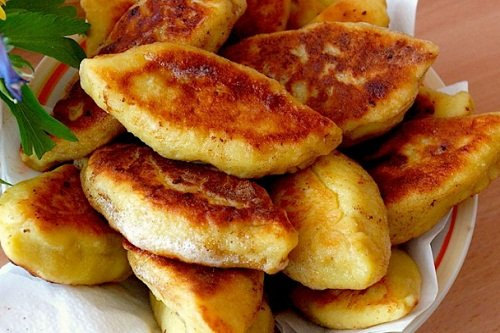 Картофельные пирожки с капустой рецепт с фото