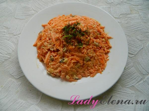 Фото рецепт морковного салата