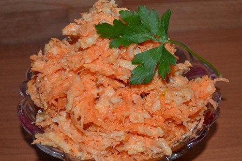 рецепты салатов с сыром с фото