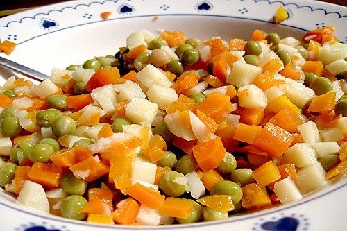 Полезный салат с морковью