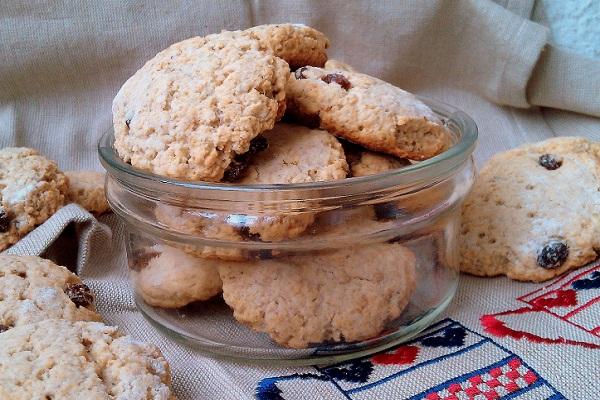 Рецепт очень вкусного овсяного печенья в домашних условиях