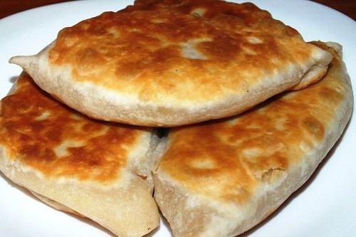 Пышные пирожки из кефира