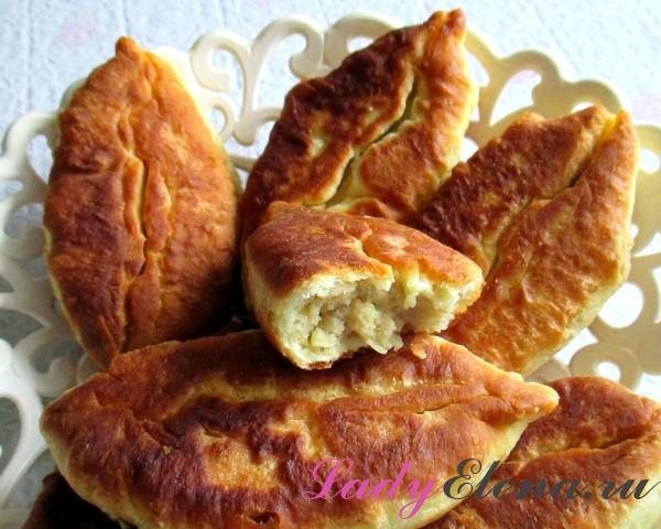 Фото рецепт домашних пирожков на кефире
