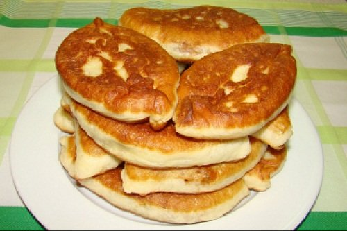 Пирожки на кефире с начинкой