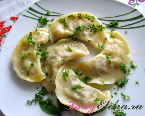 Фото рецепт вареников с картошкой
