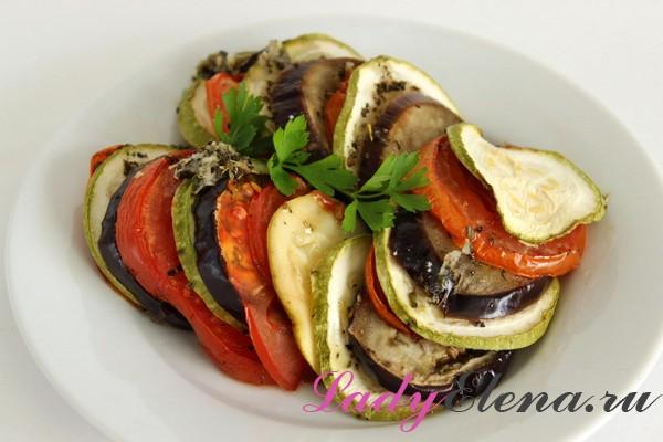 Фото рецепт рататуя из овощей