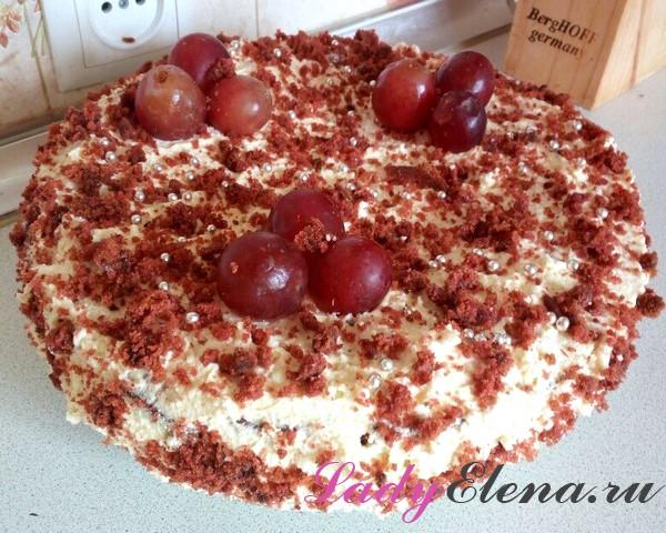 Фото рецепт домашнего торта