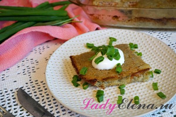 Фото рецепт картофельной бабаки