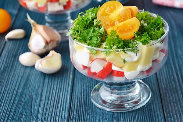салат красная шапочка очень вкусный и красивый салат