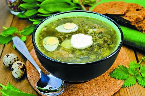 суп из крапивы видео рецепт